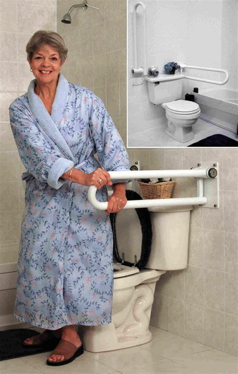 toilet grab bars access  home