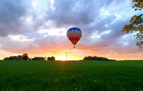 Dzimšanas dienas lidojums ar gaisa balonu - Blogs par lidošanu