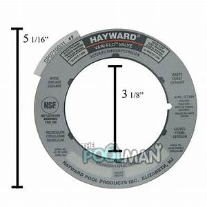 Hayward Sand Filter Valve Label Plate Sticker Spx0710g
