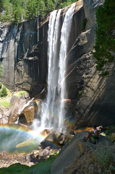 Vernal Fall Waterfall Yosemite National Park