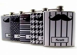rad wedding gifts for groomsmen best man mustache flasks With best man wedding gifts