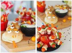 partyschlange schule kindergarten fingerfood gesund buffet