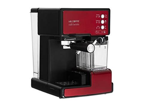 5 how much water do you put in a mr. Mr. Coffee One-Touch coffeehouse espresso maker and cappuccino machine reviews   shopinbrand