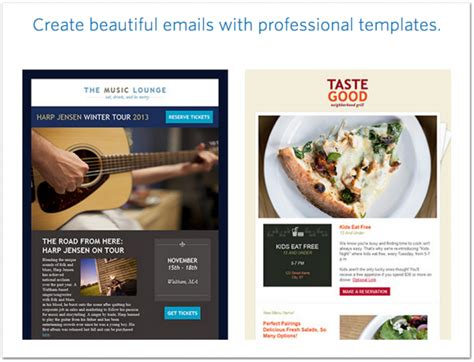 constant contact email templates 12 best real estate newsletter template resources placester