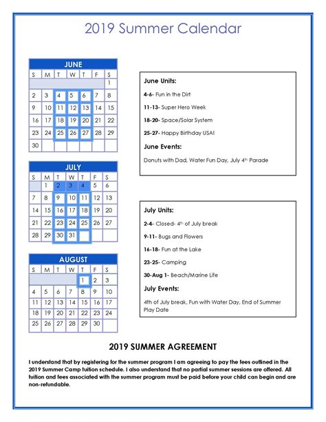 summer program st timothy preschool