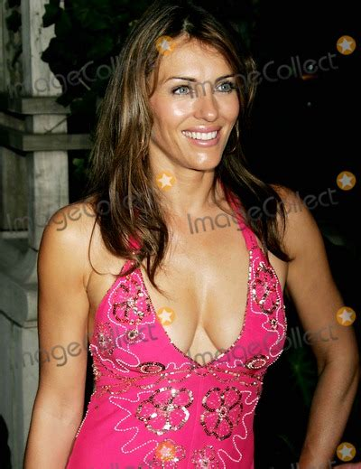 Give Cancer Pink Slip by Elizabeth Hurley Pictures And Photos