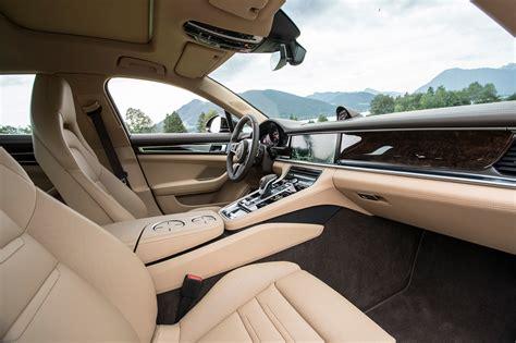 porsche panamera 2017 interior first drive 2017 porsche panamera 4s porscheautoworld com