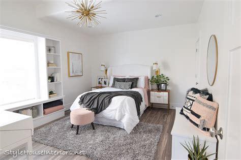 Boho Glam White Bedroom Makeover  One Room Challenge
