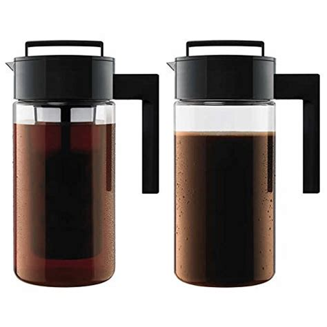 Purchases you make through our links may earn us a commission. Takeya Cold Brew Iced Coffee Maker, 1-Quart, Black (2) » Best Rated Coffee Makers
