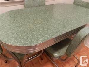 kitchen table chairs vintage 1950 s deco for sale in toronto ontario classifieds