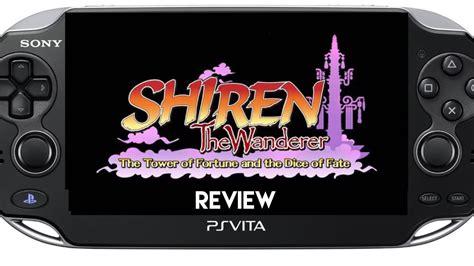 Shiren Premium shiren the wanderer ps vita review