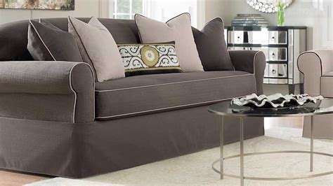 Sofa And Loveseat Slipcovers Cheap by Furniture Creates Clean Foundation That Complements