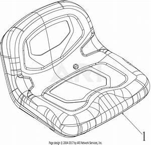 Troy Bilt 13al78bs023 Bronco 42 Auto  2019  Parts Diagram
