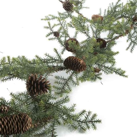 artificial pine garland christmas garlands christmas and winter holiday crafts
