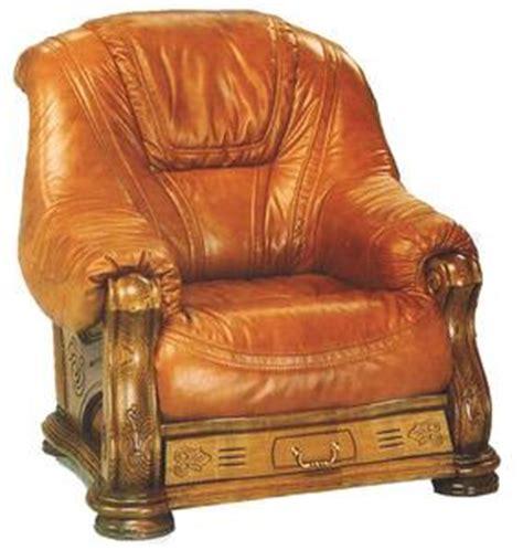canapé cuir et bois rustique fauteuil de salon comparez les prix pour professionnels