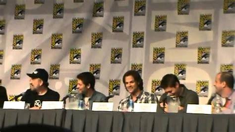 Jensen Ackles, Jared Padalecki, Misha Collins and Jim ...