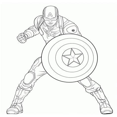"""Disegni Di """"capitan America"""" Da Colorare per Avengers Da"""