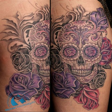 Tete De Mort Mexicaine Signification Tatouage Tete De Mort