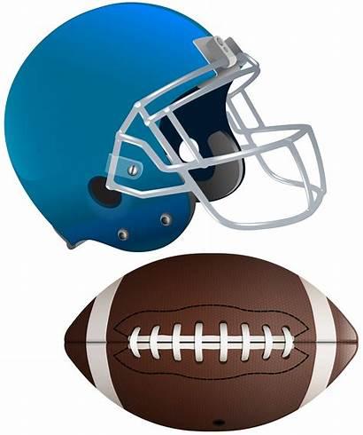Football Helmet Clip Clipart Transparent American Ball