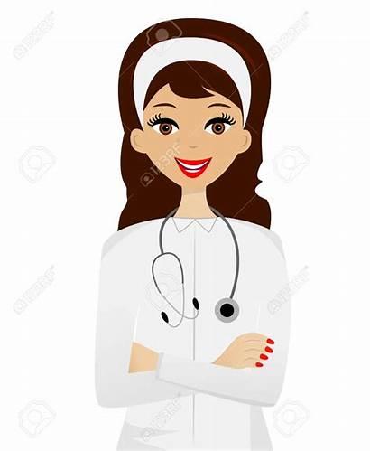 Doctor Clipart Doctors Woman Female Dream Patient