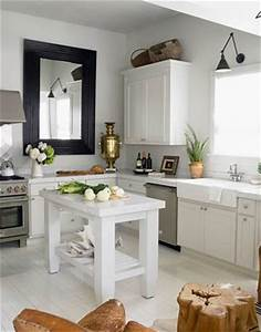 Color outside the lines kitchen inspiration month day 28 for Kitchen colors with white cabinets with mirror framed wall art