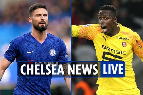 1:00 pm Chelsea moved live news: Edouard Mendy PARLE ...