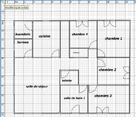 plan de maison sweet home 3d