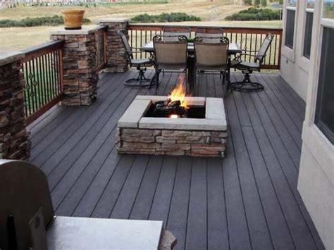 17 Best Ideas About Deck Fire Pit On Pinterest