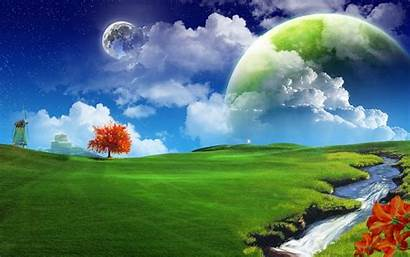 Planet Wallpapers Nature Windows Backgrounds Mother Windmill