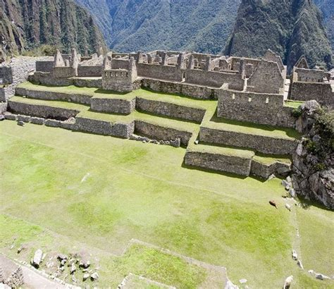 Machu Picchu In Peru Which Means 'old Peak Is One Of