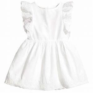 H M Newsletter : robe blanche h m 40 pi ces de printemps pour habiller joliment ses enfants elle ~ Orissabook.com Haus und Dekorationen