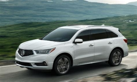 2017 Acura Mdx Makes World Debut At 2016 New York Auto Show