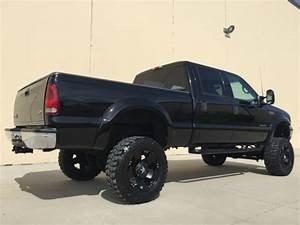 Lifted 1999 Ford F350 Crew Lariat 4x4 Shortbed Tv  Dvd 7 3