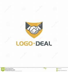 Handshake Logo For Business Stock Vector - Illustration ...