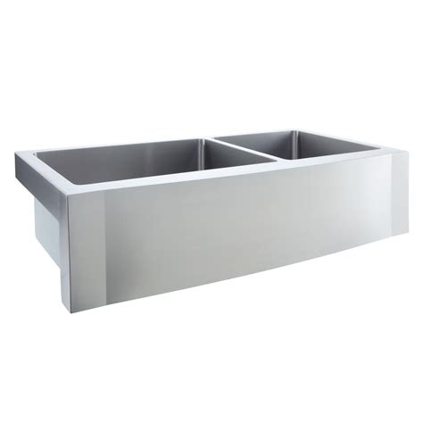 60 40 stainless steel sink 42 quot optimum 60 40 offset double bowl stainless steel