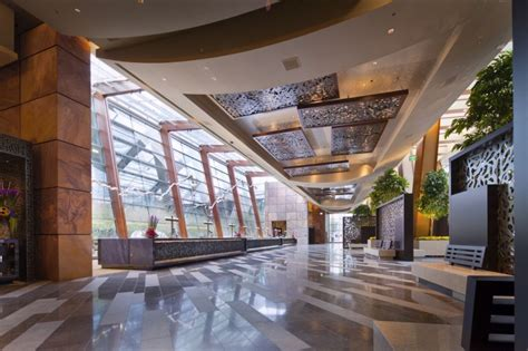 hotel front desk meeting topics the aria resort casino design by pelli clarke pelli
