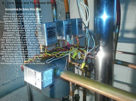 thermostat wire connect transformers boiler zone wiring valve there stack