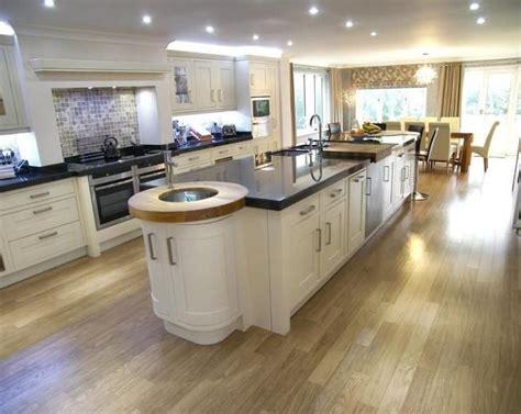 open plan kitchen living room design ideas large