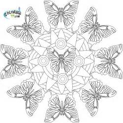 advanced butterfly coloring pages for adults coloring pages - Advanced Coloring Pages Butterfly
