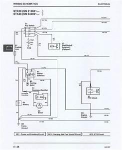 John Deere Stx 38 Wiring Diagram