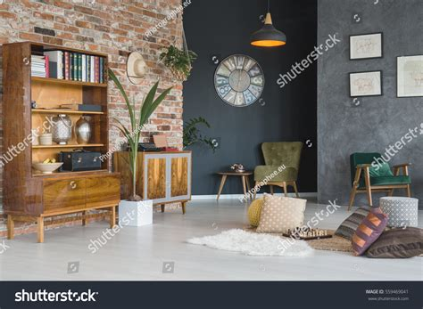 Cozy Living Room Stylish Furniture Stock Photo 559469041