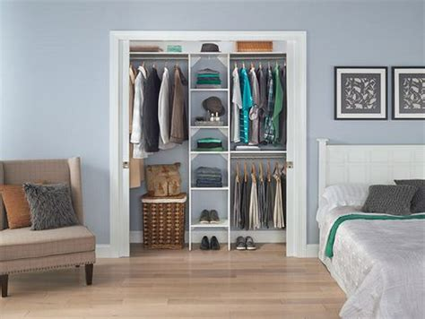 rangement garde robe rona closetmaid suitesymphony 16 inch white closet tower kit walmart canada