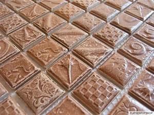 Mosaik Fliesen Frostsicher : mosaik fliesen feinsteinzeug keramik ornament struktur braun schoko 1 matte ebay ~ Eleganceandgraceweddings.com Haus und Dekorationen