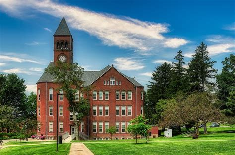 The Old Main - Slippery Rock University Photograph by ...