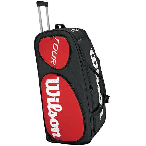 wilson  traveler tennis bag