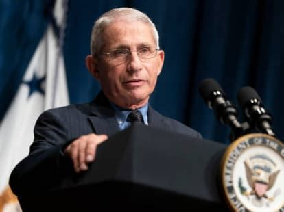 Dr. Fauci Says He and His Family Have Received 'Serious ...
