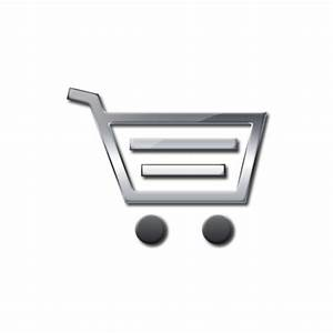 White Shopping Cart Icon 29209 | NOTEFOLIO