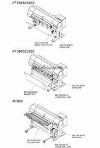Parts Catalog  U0026gt  Canon  U0026gt  Imageprograf Ipf840  U0026gt  Page 1
