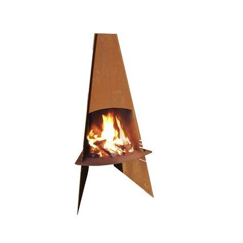 cuisine prete a poser cheminée d 39 extérieur prête à poser aduro corten steel