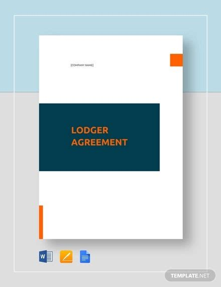 lodger agreement word document